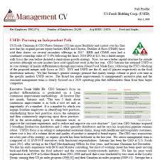 Management Cv Management Cv
