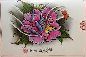 эскизы тату Quotбабочки и цветыquot Tattoo Kz