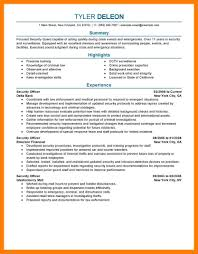 Security Guard Resume 100 Security Guard Resume Mla Cover Page 30