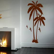palm tree wall stickers: huge palm tree hall bedroom wall art mural giant graphic sticker matt vinyl wallpaper wall decals