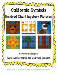 Teacher Pay In California Chart California State Symbols Hundred Chart Mystery By