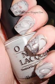 Water-marble nail Art