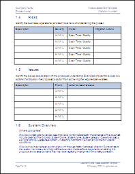 Statement Of Needs Template – Ms Word Template & Checklist