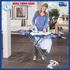 Bàn để ủi quần áo - Cầu là quần áo dạng đứng Lebenlang LBB363 Hàng Đức - BH  12 Tháng