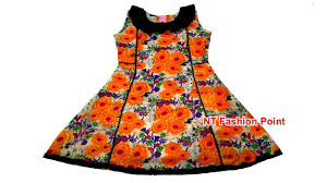 Baby Dress Frock Design Kids Cotton Kolli Cut Designs Baby Dresses Cutting And Stitching One Cut Cutting Baby Frock