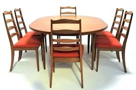 round oak dining table and chairs erfly leaf dining e set with 6 chairs round oak