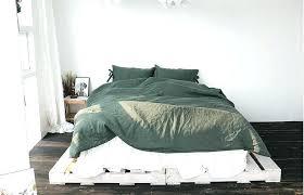 forest green bedding premium washed linen magnolia handmade deep quilt cover bedspread set magnol forest green quilt bedspread bedding