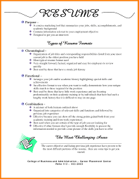 Different Formats Of Resumes Download Infoe Link