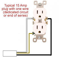 wall socket plug wiring diagram remodeling know how this would be a dedicated plug or the last in a series of plugs in a circuit