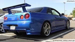 Nissan Skyline R34 GTR V-Spec II Nur - YouTube