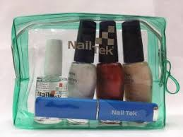 nail tek hydration therapy color set with free quick polish dryer crystal nail file