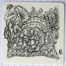 Official Zentangle Patterns Cool Inspiration