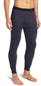 Duofold Mens Mid Weight Wicking Thermal Pant Navy Medium