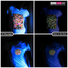 Black Light T Shirts Clothing