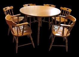 large size of chair mid century modern dining set and broyhill brasilia captain chairs for room