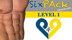 4 weeks Six Pack Abs workout - Level 1 - YouTube