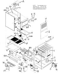 Pictures gallery of trane xl80 furnace parts diagram