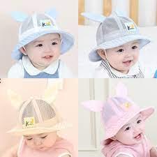 mũ vải bé gái
