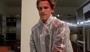 american psycho ending what really happened patrick bateman in bloody raincoat american psycho