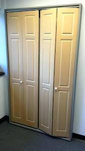 interior bifold closet doors stylish glass closet