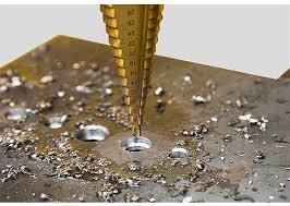 4 12 4 20 4 32 mm <b>HSS Titanium</b> Coated <b>Step Drill</b> Bit Drilling ...