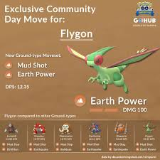 Flygon Great League PvP Guide | Pokemon GO Hub | Pokemon, Pokemon go, Go  game