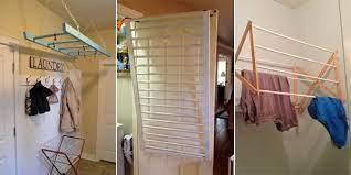 wall mounted drying rack diy off 71