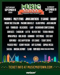 How can you tell the real from the fake? Music Midtown September 18 19 2021 Piedmont Park Atlanta Ga