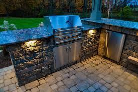 outdoor kitchen lighting. Landscape Lighting Muncie Indiana Wasson Nursery Within Outdoor Kitchen U