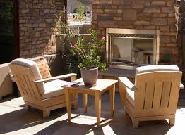 Outdoor patios with fireplace Bristolurnu Gas Patio Fireplace Set Into Brick Wall Serving As An Outdoor Living Room Area Home Stratosphere 31 Patio Fireplaces Creating Outdoor Living Room Spaces