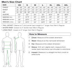 Mens Sizing Sport Obermeyer
