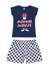 Biocotton Minnie Mouse Print Pyjamas