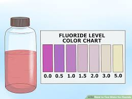Water Test Color Chart 3 Ways To Test Water For Fluoride Wikihow