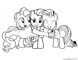 Small Picture My Little Pony Friendship is Magic 02 Coloring Page Coloring