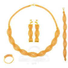set sc4 21k jewellery gold collection ba dubai gold jewelry