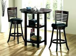 pub table sets round bistro set bar dining with white and chair 3 piece