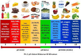 Ph Of Fruits Chart Ph Levels Of Fruits And Vegetables 2 Di 2019 Bawang