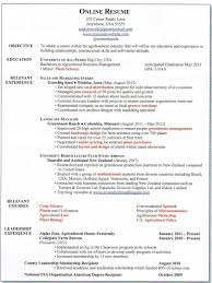 Sample Resumes Online Sample Basic Resume 21 Select Template Right