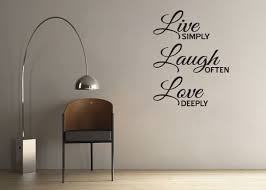 laugh love wall quotes  live laugh love inspirational quote vinyl wall decor window decal