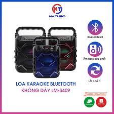 Loa karaoke bluetooth không dây LM-S409 cao cấp có led nháy siêu đẹp, âm  thanh cực hay tại Hà Nội