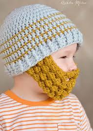 Beard Hat Crochet Pattern Gorgeous Crochet Bobble Beard Pattern Multiple Sizes Ashlee Marie Real