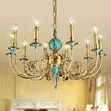 get ations french european candle chandelier lamp copper art and resects all copper lamp american living room bedroom