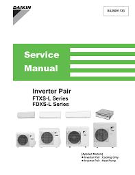 Daikin Inverter Ac Blinking Green Light Daikin Mc70l3vm L Series Service Manual Manualzz Com