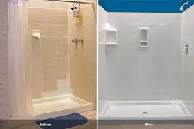 outstanding acrylic shower wall surrounds images bathroom with