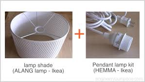 ikea lighting hack. IKEA-hack-ALANG-lamp-and-pendant-kit Ikea Lighting Hack H