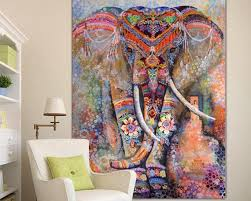 elephant tapiz tapestry wall hanging