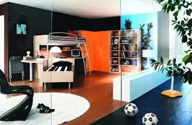Contemporary Cool Room Ideas for Guys and Girls : Modern Bedroom Decor Ideas  For Teenage Guys