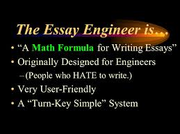 """ gers teer c"" the essay engineer the easy way to write essays  3 the"