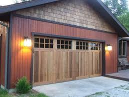 chi garage doorCHI Overhead Wood Garage Doors  Garage Door Installation New