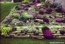 Small Picture Modren Garden Ideas On A Slope Design Steep Photo 1 For
